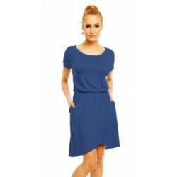 Šaty Grace v modré džínové