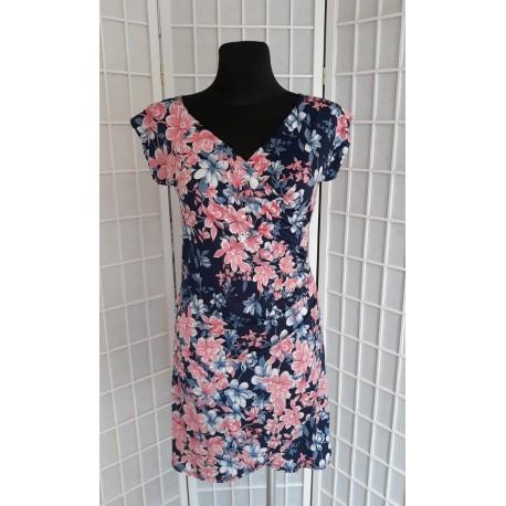 Letní dámské šaty Sofia, Velikost L, Barva Barevná L&S Fashion