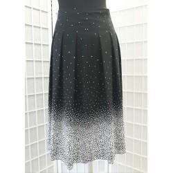 Dámská sukně s puntíky