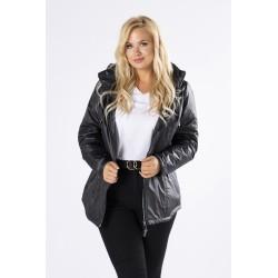 Dámská prošívaná bunda černá