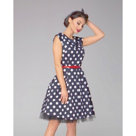 Gotta šaty s puntíky