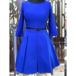 Šaty s 3/4 rukávem Gotta modré