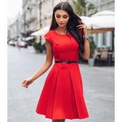 Gotta šaty červené