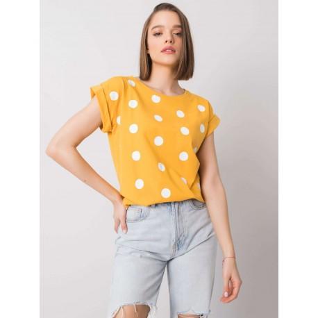 Dámské bavlněné tričko/ halenka s velkými puntíky