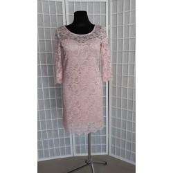 Krajkové pouzdrové šaty Stella