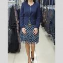 Dámské elegantní modré sako