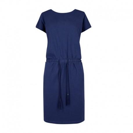 Sportovní bavlněné šaty - modré