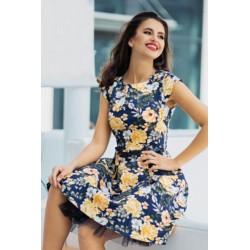 Dámské šaty Yellow Flowers