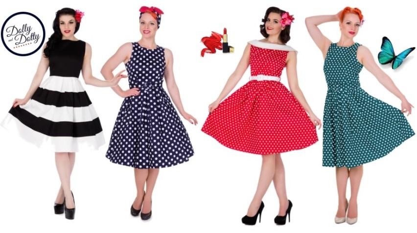 Dámské retro šaty pro různé příležitosti